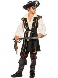 Déguisement Pirate Noir et Blanc
