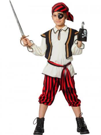 Déguisement Pirate Gilet Noir