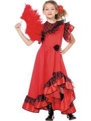 Déguisement Flamenco Carmen Enfant