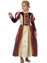 Déguisement Reine Médiévale Enfant Luxe