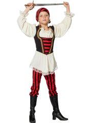 Déguisement Pirate Fille Pantalon