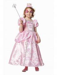 Déguisement Princesse Satin Rose