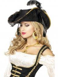 Chapeau Pirate Femme Luxe