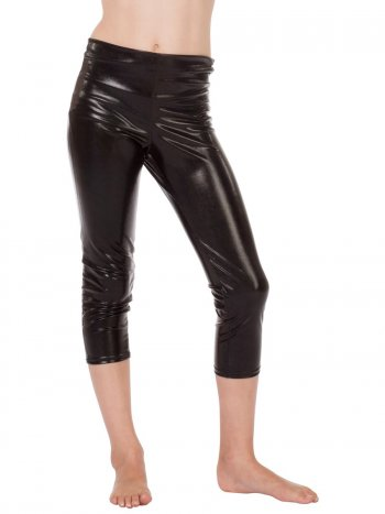 Leggings Noir Brillant