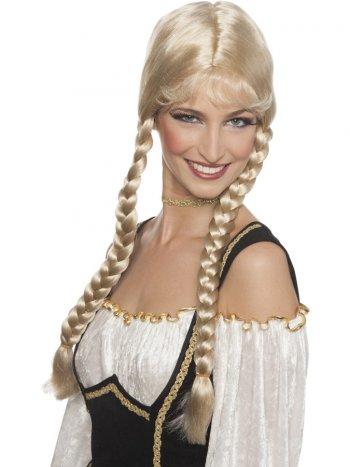 Perruque Blonde Heidi