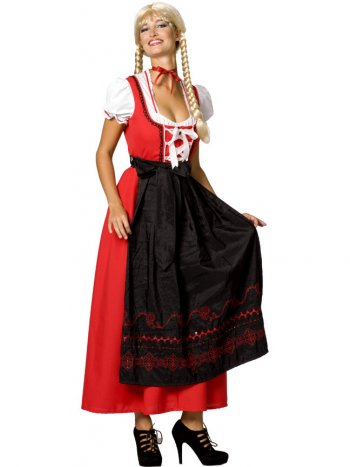 Déguisement de Tyrolienne Anna taille 44