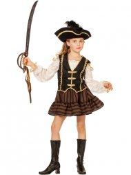 Déguisement de Princesse Pirate Velours