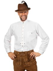 Chemise Tyrolienne blanche