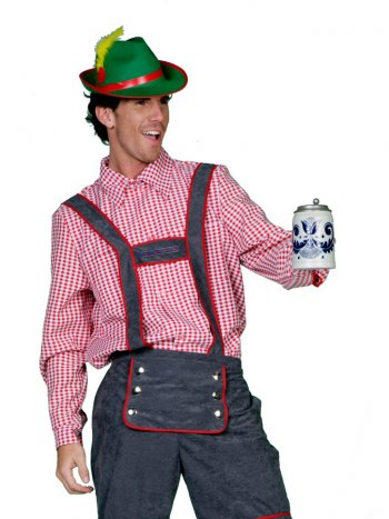 Chemise Traditionnelle Tyrol