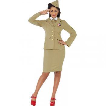 Déguisement d Officier femme