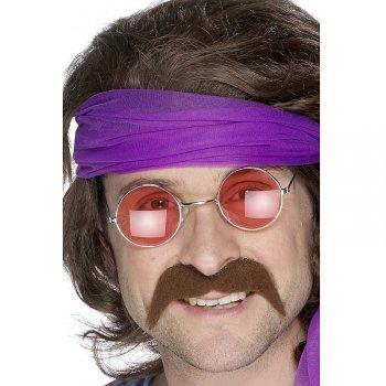 Moustaches Années 70 Brune