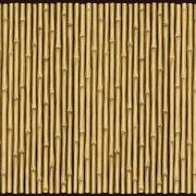 Décor Cloture bambou
