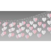 Décoration de plafond Mariage Coeurs
