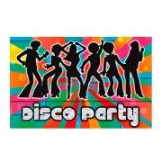 8 invitations Disco party