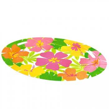 Plateau mélamine fleurs d hibiscus