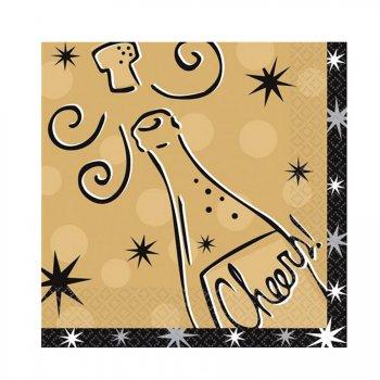16 serviettes Cheers !