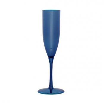 6 Flûtes champagne couleur
