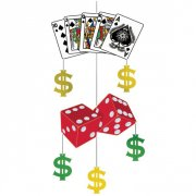 Décoration à suspendre Casino