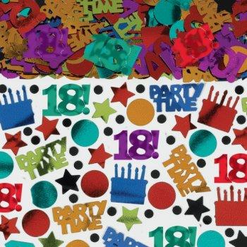 """Confettis Anniversaire """"18 ans!"""""""