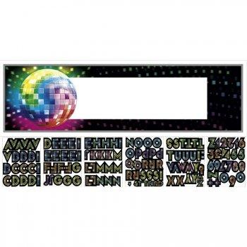 Affiche géante Disco Fever 70 s