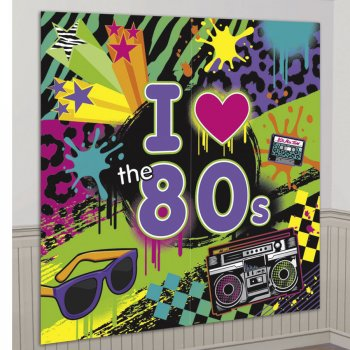 Affiche murale Totally 80 s