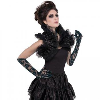 Col Gothique Aristocrate Noir