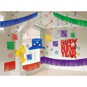 Kit de Décorations happy New Year Multicolores
