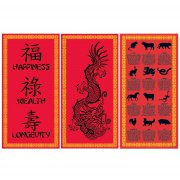 Set Panneaux Chinois