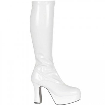 Bottes Fever Stretch 70 s Blanches