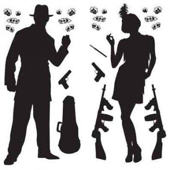 Set de 24 décors Gangster