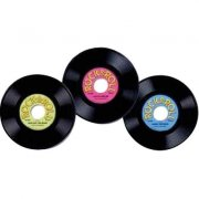 3 décors disques 45T