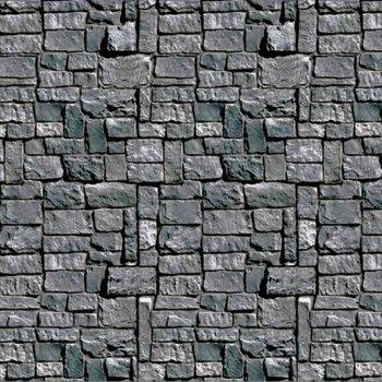Décor mural donjon pierres