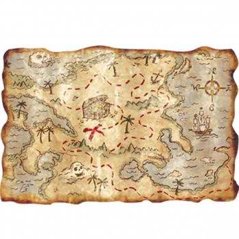Carte de l île au trésor