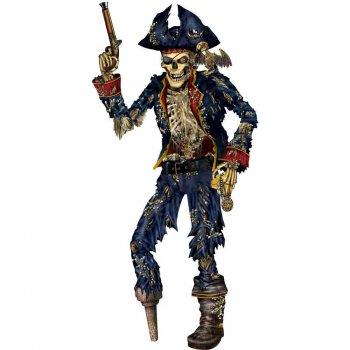 Décor squelette Pirate