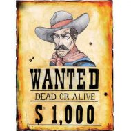 Poster Wanted Dead or Alive
