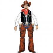 Décor cowboy articulé