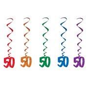 Guirlandes verticales 50 ans