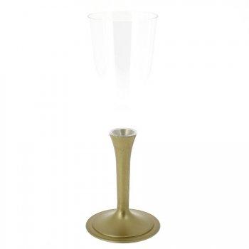 6 Flûtes Champagne Or