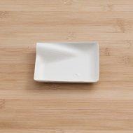 Assiettes Fibre Wave carrées 8 cm