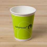 10 Gobelets Cellulose Naturesse vert