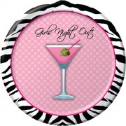 8 Petites Assiettes Sexy Girls Party