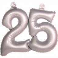 Ballon Gonflable Chiffre 25 Argent