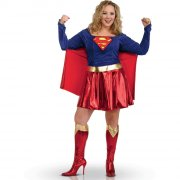Déguisement Supergirl Sexy - Grande Taille (44/46)