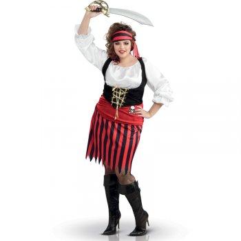 Déguisement Pirate Femme - Grande Taille (46/52)
