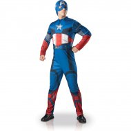 Déguisement Captain America Avengers Luxe
